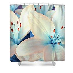 Charming Elegance Shower Curtain by Iryna Goodall