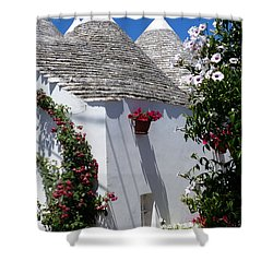 Charming Trulli Shower Curtain