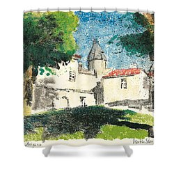 Chartreuse Avignon Shower Curtain