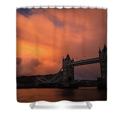 Chasing Clouds Shower Curtain
