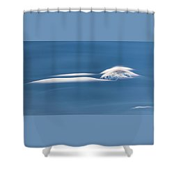 Chasing Lenticulars - Shower Curtain
