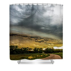 Chasing Nebraska Stormscapes 074 Shower Curtain