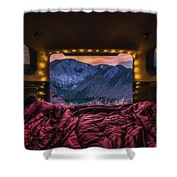 Chasing Sunset Shower Curtain
