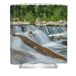 Chasm Falls Shower Curtain