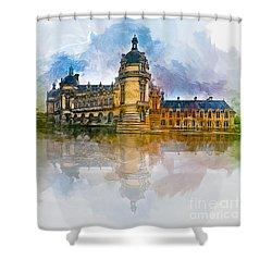 Chateau De Chantilly Shower Curtain