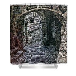 Chateau De La Chevre D'or Shower Curtain