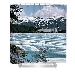 Chateau Lake Louise Shower Curtain