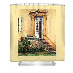 Chateau Le Pinacle Shower Curtain