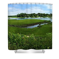 Chatham In July Shower Curtain