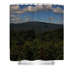 Chattahoochee Forest Overlook Shower Curtain