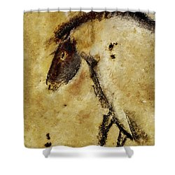 Chauvet Horse Shower Curtain