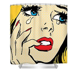 Cheater Shower Curtain