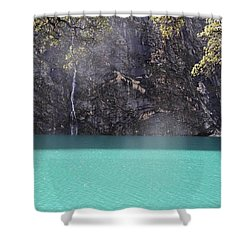 Check Out The Colour Of That Water - Shower Curtain