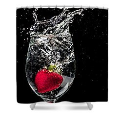 Shower Curtain featuring the photograph Cheers 2 You by TC Morgan