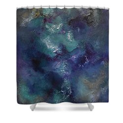 Shower Curtain featuring the painting Cheers by Tamara Bettencourt