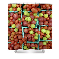 Cheery Cherry T's Shower Curtain