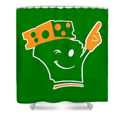Cheeseheader Shower Curtain