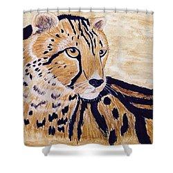 Cheeta Shower Curtain