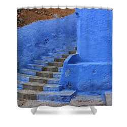 Shower Curtain featuring the photograph Chefchaouen by Ramona Johnston