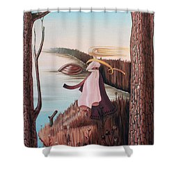 Chekhov Shower Curtain by Victor Molev