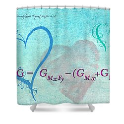 Chemical Thermodynamic Equation For Love Shower Curtain