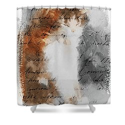 Cher Chat ... Shower Curtain