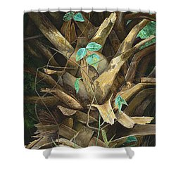Cherished Boots Shower Curtain by AnnaJo Vahle