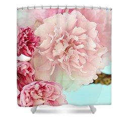 Kwanzan Cherry Shower Curtain