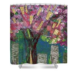 Cherry Blossom Too Shower Curtain