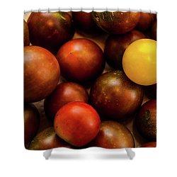Cherry Heirloom Tomatoes Shower Curtain