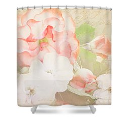 Cherry Parfait Shower Curtain