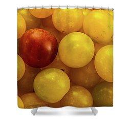 Cherry Yellow Tomatoes Shower Curtain