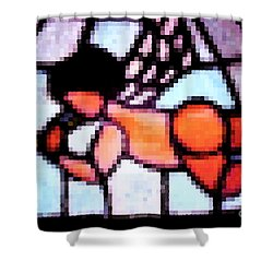 Cherub Art  Shower Curtain