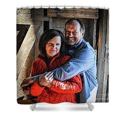 Cheryl And Jan Paul Shower Curtain