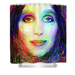 Cheryl Sarkisian Shower Curtain