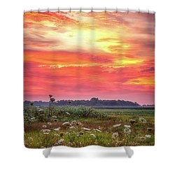 Chesapeake Sunrise I Shower Curtain