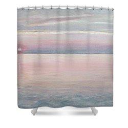 Chesapeake Sunset Shower Curtain