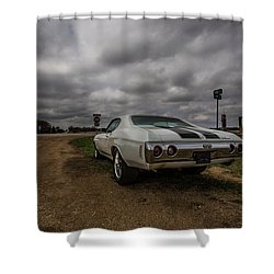 Shower Curtain featuring the photograph Chevelle Ss by Aaron J Groen