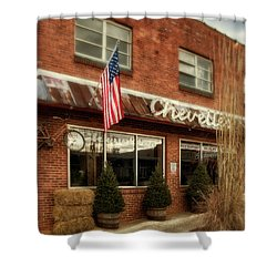Shower Curtain featuring the photograph Chevells by Greg Mimbs
