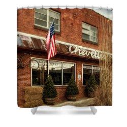 Chevells Shower Curtain by Greg Mimbs