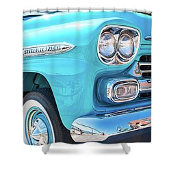Chevrolet Apache Truck Shower Curtain
