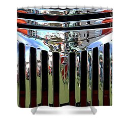 Chevrolet Grille 01 Shower Curtain