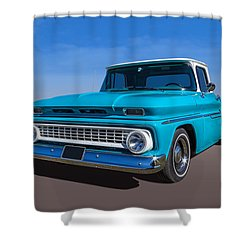 Chevrolet Pickup Shower Curtain