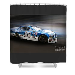 Chevrolet Ss Nascar Shower Curtain by Roger Lighterness