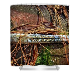Chevrolet Stylemaster And Pine Needles Shower Curtain