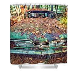 Chevrolet Wagon Shower Curtain