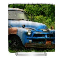 Chevy 6500 Farm Truck Shower Curtain