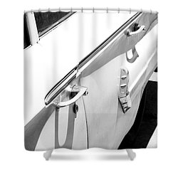 Chevy Biscayne Shower Curtain by Amanda Barcon