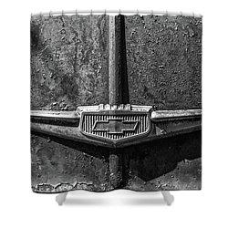 Chevy Emblem-4240 Shower Curtain