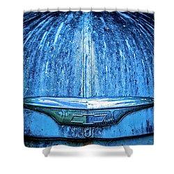 Chevy Hood Shower Curtain